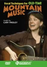 Vocal Techniques for Old-Time Mountain Music DVD
